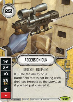 Ascension Gun (SoR) Rare