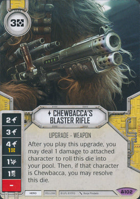 Chewbacca's Blaster Rifle (CONV) Legendary