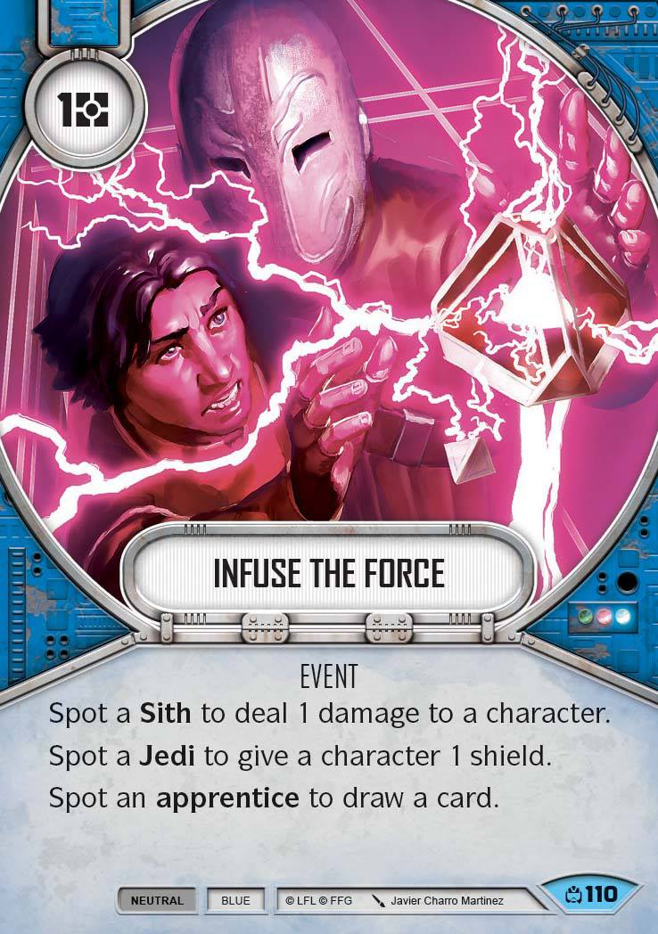 Infuse The Force (CM) Common