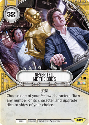 Never Tell Me The Odds (SoR) Uncommon