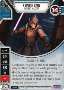 Darth Bane - Ancient Master (CM) Legendary
