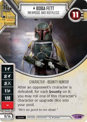 Boba Fett - Infamous And Ruthless (CM) Legendary