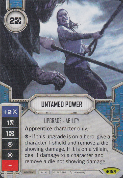 Untamed Power (SOH) Rare