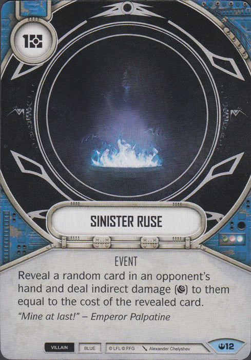 Sinister Ruse (SOH) Common