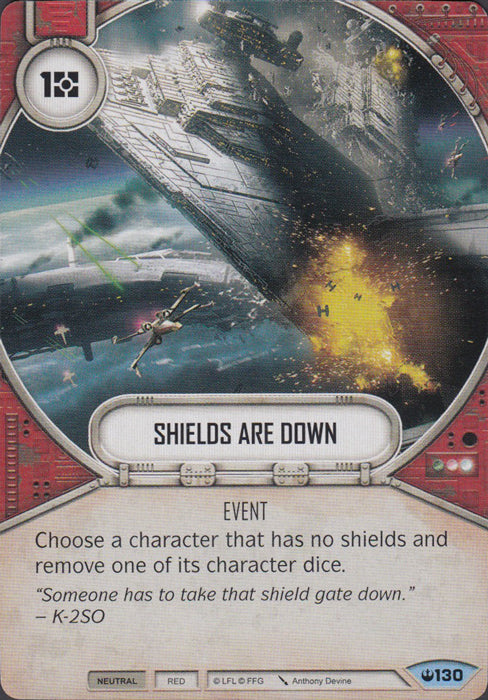 Shields Are Down (SOH) Common