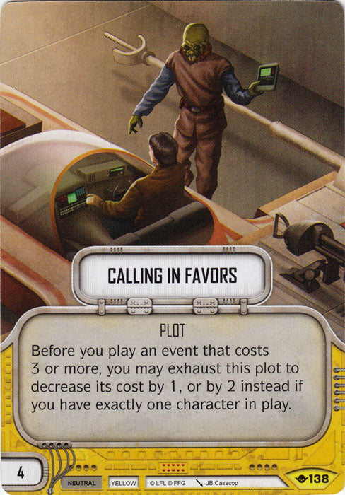 Calling in Favors (WotF) Uncommon