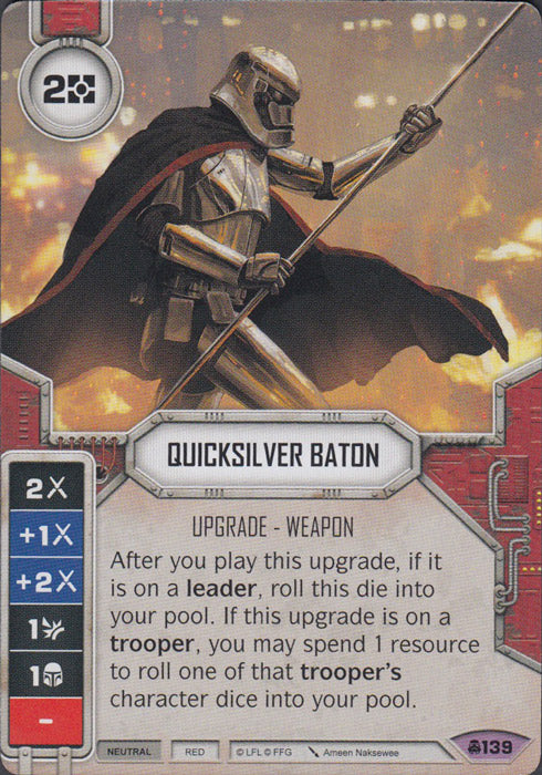 Quicksilver Baton (CONV) Legendary