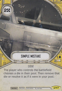 Simple Mistake (SOH) Uncommon