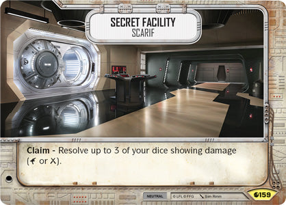 Secret Facility - Scarif (SoR) Uncommon