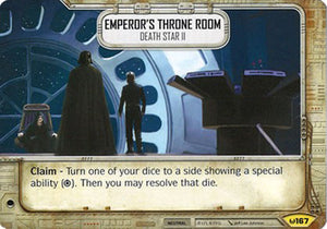 Emperor's Throne Room - Death Star II (AWK) Uncommon