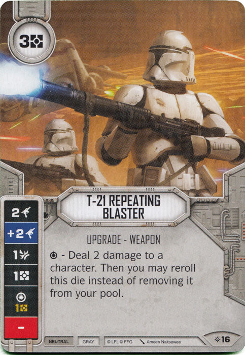 T-21 Repeating Blaster (Rivals) Starter