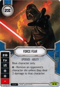 Force Fear (WotF) Rare