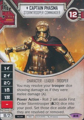 Captain Phasma - Stormtrooper Commander (CONV) Legendary