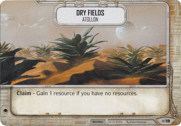 Dry Fields - Atollon (Rivals) Starter