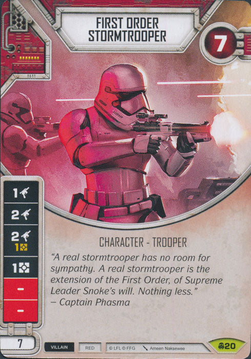 First Order Stormtrooper (CONV) Rare