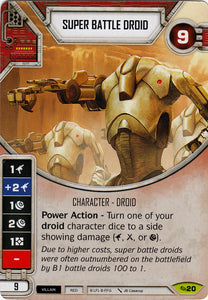 Super Battle Droid (ATG) Rare