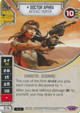 Doctor Aphra - Artifact Hunter (LEG) Legendary