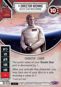 Director Krennic - Death Star Mastermind (CM) Legendary