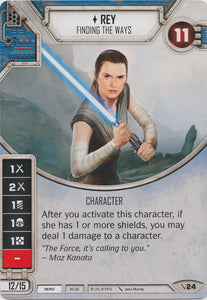 Rey - Finding the Ways (2PG) Starter