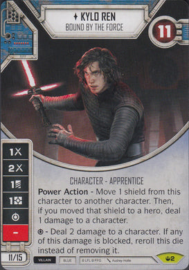 Kylo Ren - Bound By The Force (SOH) Rare