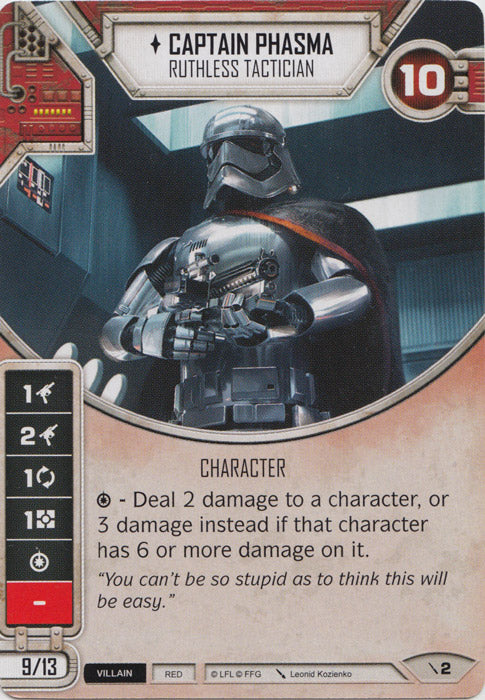 Captain Phasma - Ruthless Tactician (2PG) Starter