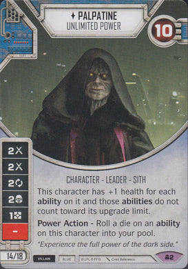 Palpatine - Unlimited Power (CONV) Legendary