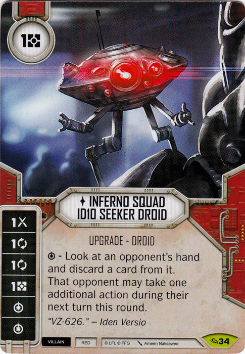 Inferno Squad ID10 Seeker Droid (ATG) Rare