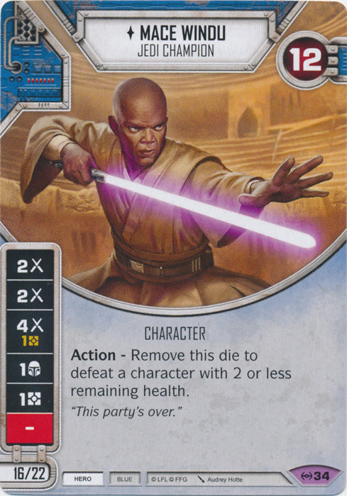 Mace Windu - Jedi Champion (EAW) Legendary