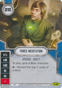 Force Meditation (LEG) Rare