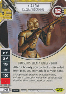 4-LOM - Calculating Criminal (SOH) Rare