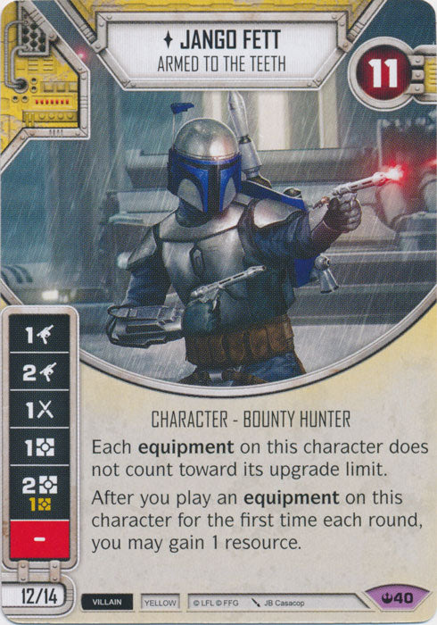 Jango Fett - Armed To The Teeth (SOH) Legendary