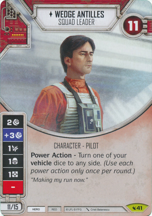 Wedge Antilles - Squad Leader (LEG) Rare