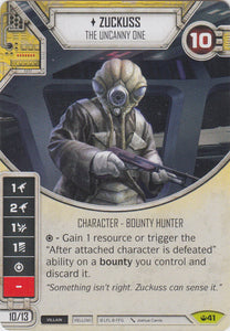 Zuckuss - The Uncanny One (SOH) Rare