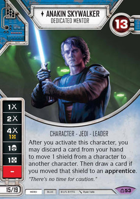 Anakin Skywalker - Dedicated Mentor (CM) Legendary