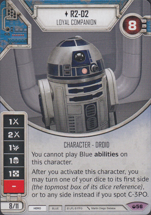 R2-D2 - Loyal Companion (SOH) Legendary