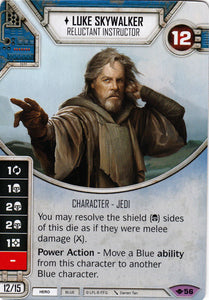 Luke Skywalker - Reluctant Instructor (WotF) Legendary