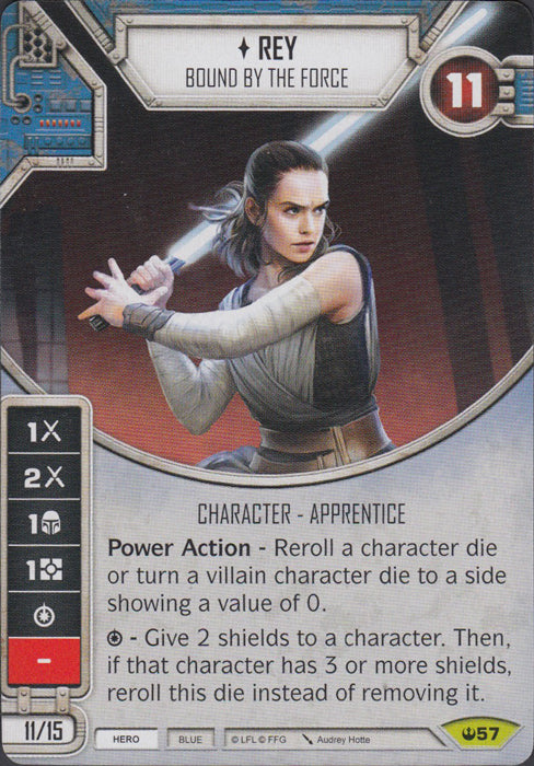 Rey - Bound By The Force (SOH) Rare