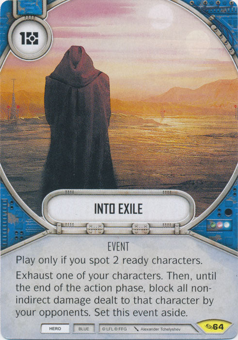 Into Exile (ATG) Uncommon