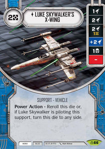 Luke Skywalker's X-Wing (CM) Rare