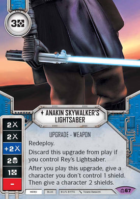 Anakin Skywalker's Lightsaber (CM) Legendary