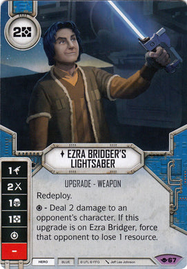 Ezra Bridger's Lightsaber (WotF) Legendary