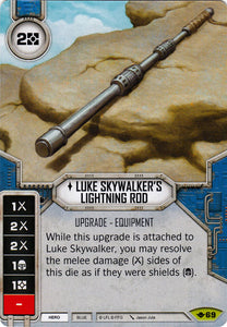 Luke Skywalker's Lightning Rod (WotF) Rare
