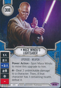 Mace Windu's Lightsaber (CONV) Legendary