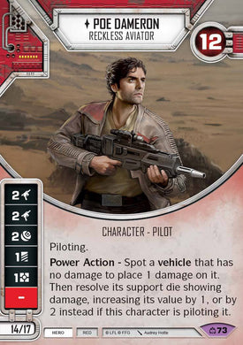 Poe Dameron - Reckless Aviator (CM) Legendary