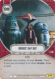 Droids' Day Out (SOH) Uncommon