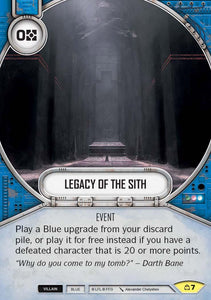 Legacy of the Sith (CM) Uncommon