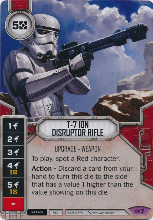 T-7 Ion Disruptor Rifle (EAW) Legendary