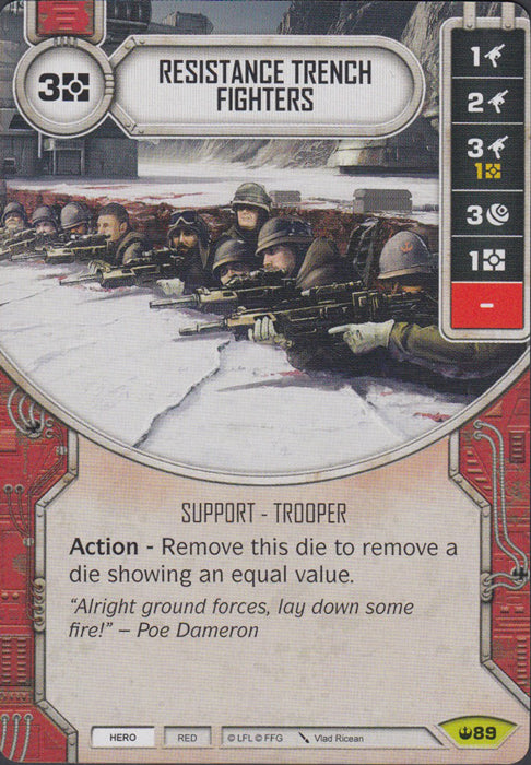 Resistance Trench Fighters (SOH) Rare
