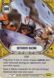 Defensive Racing (WotF) Uncommon