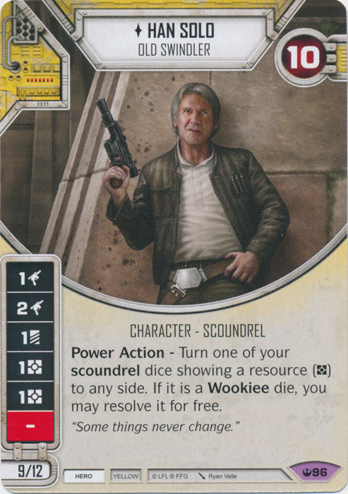 Han Solo - Old Swindler (SOH) Legendary